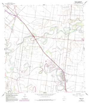 Olmito USGS topographic map 26097a5