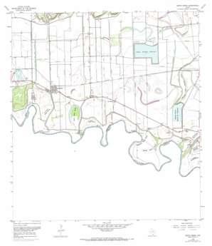 Santa Maria USGS topographic map 26097a7