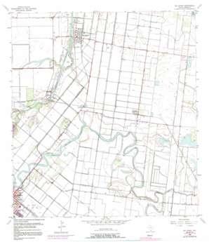Rio Hondo USGS topographic map 26097b5