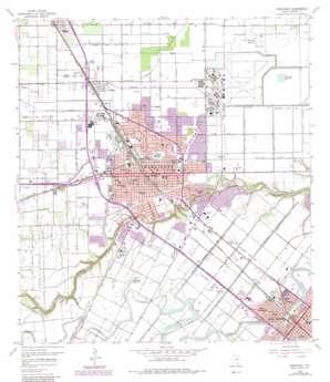 Harlingen USGS topographic map 26097b6