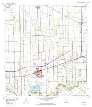 La Feria USGS topographic map 26097b7