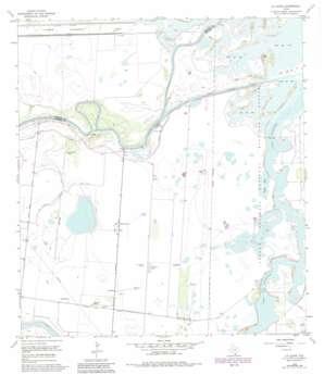 La Leona USGS topographic map 26097c4