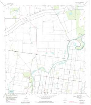 Paso Real USGS topographic map 26097c5