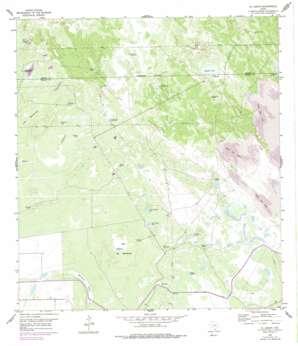 El Jardin USGS topographic map 26097e5