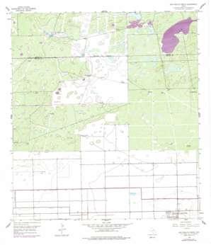San Perlita North USGS topographic map 26097e6