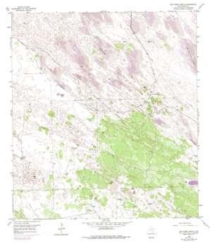 San Pedro Ranch USGS topographic map 26097h6