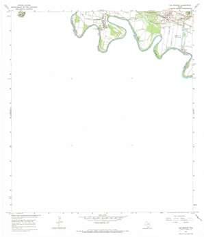 Los Ebanos USGS topographic map 26098b5