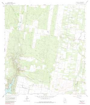 Citrus City topo map