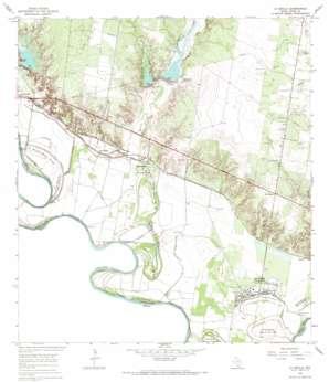 La Grulla USGS topographic map 26098c6