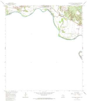 Rio Grande City South topo map
