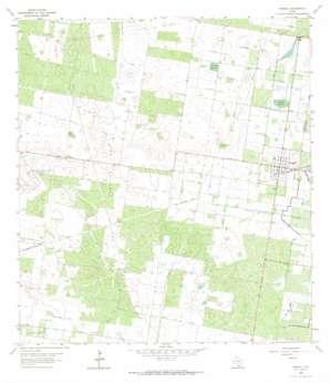 Hargill topo map