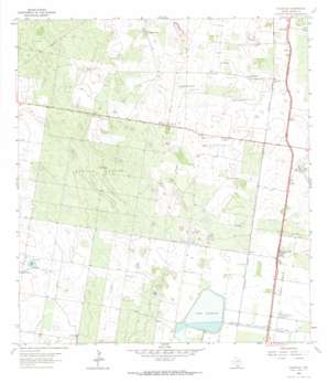 Faysville topo map