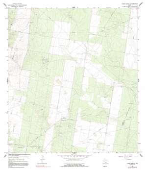 Camp Garcia USGS topographic map 26098d5