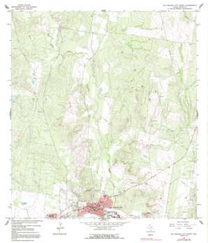 Rio Grande City North USGS topographic map 26098d7