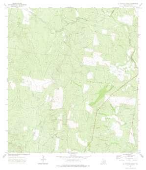 El Chapote Creek USGS topographic map 26098e8