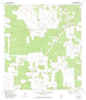 La Gloria USGS topographic map 26098f5