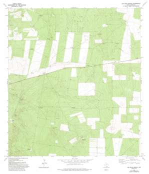 Las Islas Ranch USGS topographic map 26098f6