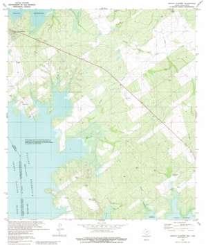 Arroyo Clareno USGS topographic map 26099g2