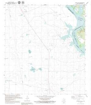 Zapata Nw topo map