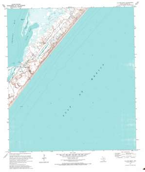 Allyns Bight USGS topographic map 27096h8