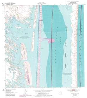 Potrero Cortado topo map