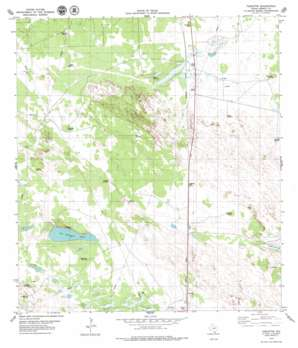 Turcotte USGS topographic map 27097a7