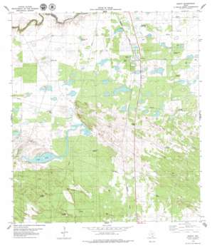 Sarita USGS topographic map 27097b7
