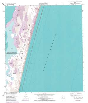 South Bird Island SE USGS topographic map 27097c3