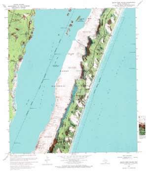 South Bird Island topo map