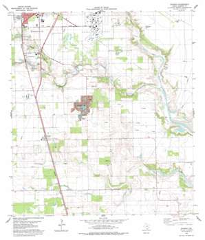 Ricardo USGS topographic map 27097d7