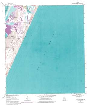 Crane Islands Sw topo map