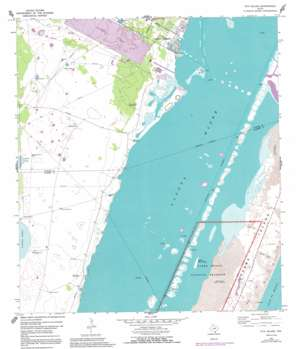 Pita Island USGS topographic map 27097e3