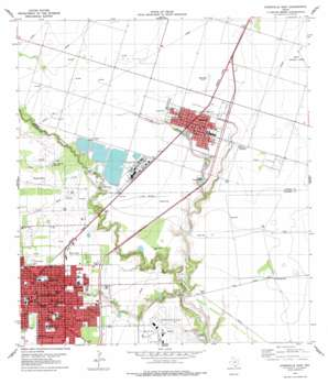 Kingsville East USGS topographic map 27097e7