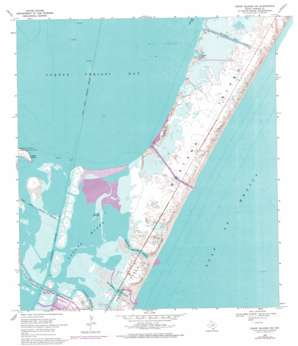 Crane Islands Nw USGS topographic map 27097f2