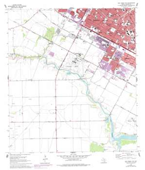 Oso Creek Nw USGS topographic map 27097f4