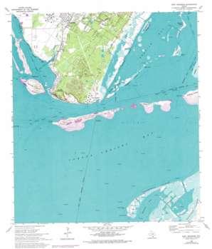 Port Ingleside USGS topographic map 27097g2