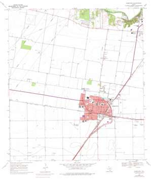 Robstown USGS topographic map 27097g6