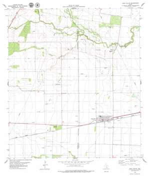 Agua Dulce USGS topographic map 27097g8
