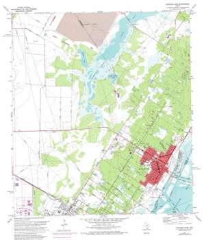 Aransas Pass USGS topographic map 27097h2