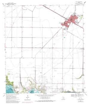 Taft topo map