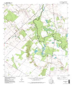 San Patricio USGS topographic map 27097h7