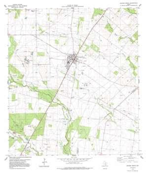 Orange Grove USGS topographic map 27097h8
