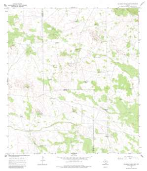 Palomas Ranch Sw USGS topographic map 27098a4