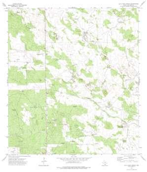 Alta Vista Ranch topo map