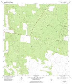 San Pablo Ranch USGS topographic map 27098a7