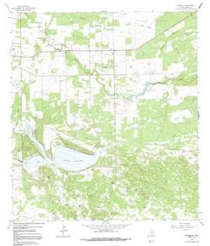 Flowella USGS topographic map 27098b1