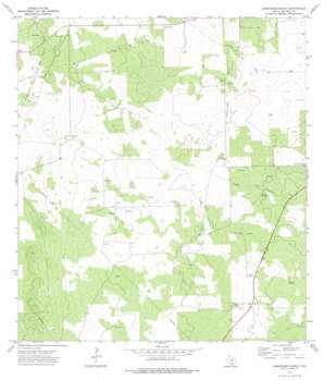 Armstrong Ranch topo map
