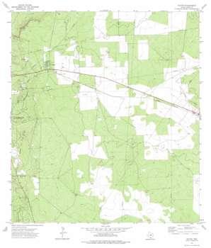 Oilton topo map