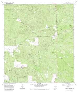 Parrilla Creek Sw topo map