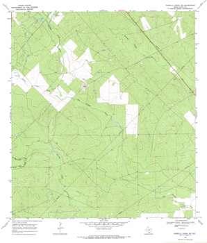 Parrilla Creek Ne topo map